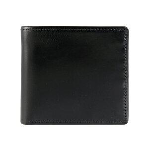 ホワイトハウスコックス/Whitehouse Cox 財布 二つ折り財布(小銭入れ付) ブラックS7532/SR1563 BLACK (JP)【英国】