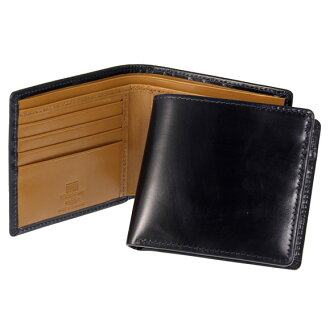 White House Cox /Whitehouse Cox wallet 2 fold wallet coin put with Navy / S7532 COIN PURSE Newton WALLET NAVY/NEWTON (JP)