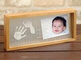 【リニューアル】メモリアルスタンド「天使の記憶」赤ちゃん 手形 足形 キット/名入れ フォトフレーム出産祝い 出産內祝い/