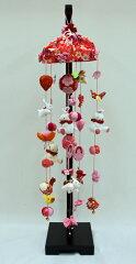 【ひな人形】【つるし雛】桜うさぎ(中) 台付【初節句】【雛飾り】