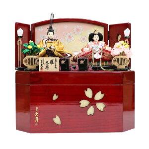 Hina Doll Kutsuki Compact Storage Decoration S31172