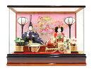 ひな人形久月コンパクトケース飾り親王No.19270