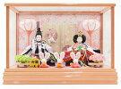 ひな人形久月コンパクトケース飾りピンク66604A