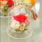 【minamibosoカーネーション】ガラスドームプリザーブドフラワーカーネーション南房総市母の日花ガーデン