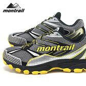 モントレイル スニーカー バッドロック・ブラック+イエロー メンズ (Montrail/BADROCK)【アウトドア】【トレイル】【NA110414】