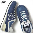 ニューバランス レディース スニーカー ML 574 VN (ネイビー) NEW BALANCE (120227)