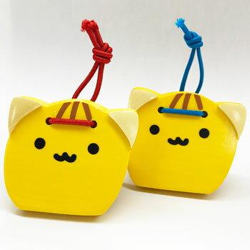 千葉ぴーにゃっつ木製カスタネット