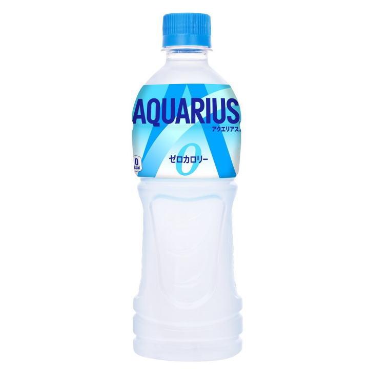 アクエリアス ゼロ 500mlPET  合計 24 本(24本×1ケース)アクエリアス スポーツ 運動 夏 水分補給 カロリーゼロ まとめ買い