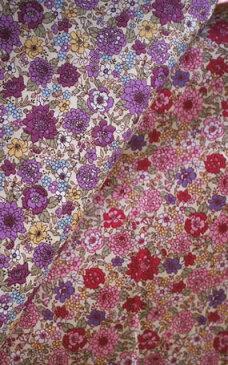【花柄生地】《ハンドメイド資材/生地》上品で大人っぽい花柄が素敵な小花柄/フラワー柄「ktnk9」(50cm単位)