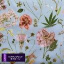 リバティ《タナローン/2021エターナル》フローラル・イブ(水色地 XE色)Floral Eve 3633189-xe リバティプリント LibertyPrint