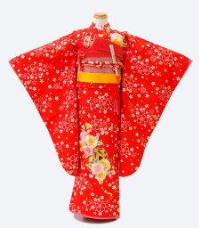 【7-0131】七五三 着物 7歳 女の子 フルセット 髪飾り 草履 バッグ 753着物 4泊5日【レンタル】