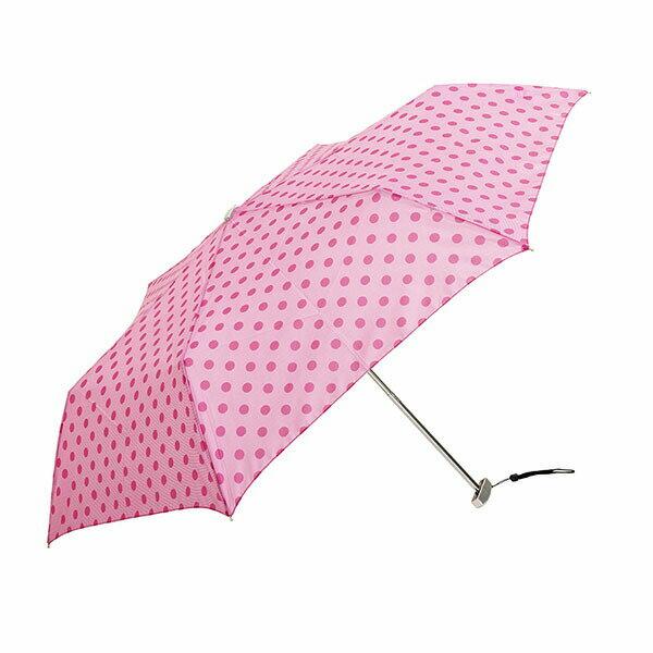 ウォーターフロント『ポケフラット50ドット柄折りたたみ傘』