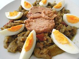 サラダ・メシュイヤ(チュニジア風焼き野菜のサラダ)中辛SaladeMechouiaDouce