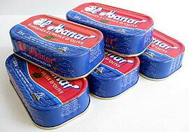 チュニジア産 オイルサーディン 缶詰 125g x 5個セット(いわしのオリーブオイル漬)Oil Sardine in Olive Oil 125g x 5pcs (El Manar, Tunisia)