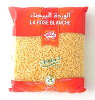 スープ用ショートパスタ「鳥の舌」/ラング・ドワゾー/米粒型500gLangued'Oiseau/Chorba/RiceShapedPasta(RoseBlanche,Tunisia)