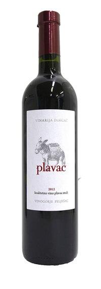 プラヴァツ2012(赤・重口)Plavac(Croatia)
