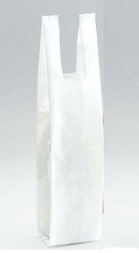 ワイン袋(ポリ) 白 フルボトルワイン1本用おみやげ 土産 *当店でワインをご注文されるお客様限定です。