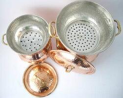 クスクス鍋(銅製)2.0L(2-3人用)