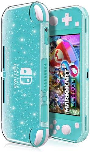 NintendoSwitchLiteケースニンテンドースイッチカバーシリコンケースソフトカバー透明TPU素材超軽量耐衝撃傷つけ防