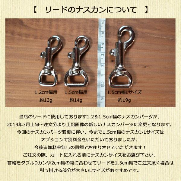 15mm幅ロングリードレインボー5mリード【オーダーメイド商品】