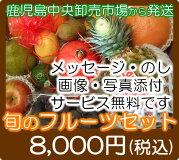 8000円果物セット南国鹿児島の卸売市場から直送いたします