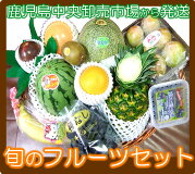 果物詰めあわせ南国鹿児島からお届けいたします