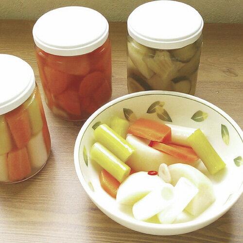 【送料無料】有機野菜の手作りピクルスセット 230g×3
