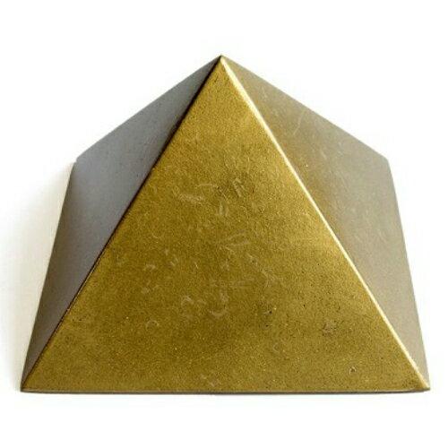 【本日エントリーでポイント7倍!限定クーポン10%OFF!】 チャクラピラミッド(ゴールド)10×6.5cm 電磁波対策 生体エネルギー 電磁波 ヒーリング お試し 買いまわり ハロウィン SALE お買い物マラソン お買い得