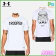 スターウォーズ アンダーアーマー スカルトルーパー 男性用 Tシャツ UA Skull Trooper