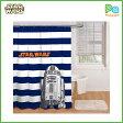 スターウォーズ フォースの覚醒 浴室 R2−D2 シャワーカーテン グッズ