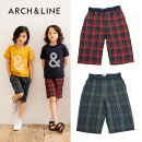 ARCH&LINE(アーチアンドライン)COOLMAXCHECKSHORTS-1406【115cm〜150cm】【メール便OK】
