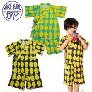 (SALE20%OFF)【夏】makeyourday(メイクユアデイ)(フィクスラボ)レモンpt甚平-0425【80cm〜140cm】【メール便OK】