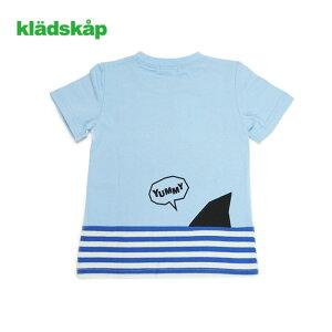 kladskap(クレードスコープ)恐竜総柄半袖Tシャツ-2226【90cm|100cm|110cm|120cm】【メール便OK】