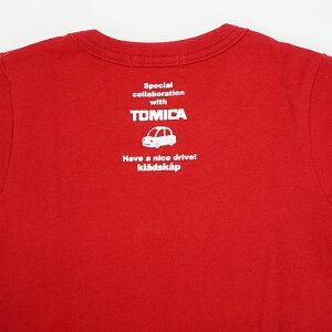 kladskap(クレードスコープ)トミカコラボ働く車集合半袖Tシャツ-1229【100cm|110cm|120cm】【メール便OK】