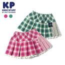 (20aw)KP(ケーピー)チェックスカパン-4302【110cm|120cm|130cm】【メール便OK】KP(ニットプランナー)