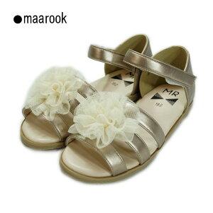 maarook(マルーク)フラワーサンダル-3022【19cm 20cm 21cm】【宅配便】