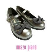 【SALE30%OFF】mezzo piano(メゾピアノ)リボンバレエシューズ-3434【16〜22cm】【宅配便】