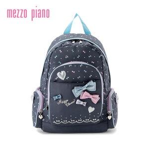 【追加企画】mezzopiano(メゾピアノ)リボンナイロンリュック(大)-1462【FREE】【宅配便】