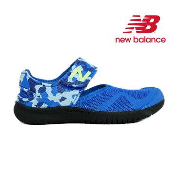 New Balance(ニューバランス) KA208BUY キッズ用サマーシューズ【17〜22cm】(ブルー)【宅配便】
