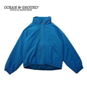 OCEAN&GROUND(オーシャン&グラウンド)アスレチックジャケット(ウインドブレーカー)-6501【110cm〜140cm】【宅配便】