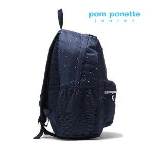 【送料・代引手数料無料】pomponettejunior(ポンポネットジュニア)ドットプリントナイロンリュック-3414【F】【宅配便】