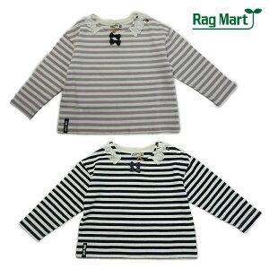 【春】RagMart(ラグマート)ボーダー長袖Tシャツ-1017【80cm|90cm|95cm】【メール便OK】