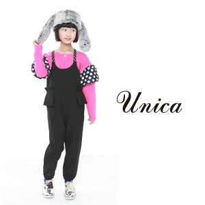 UNICA(ユニカ)オルガンぺプラムサロペット-0902【110cm|120cm|130cm|140cm】【宅配便】