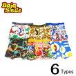 【メール便送料無料】BajaSmile(バハスマイル)6柄ボクサーパンツパンツインナー子供服下着95100110120130140