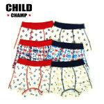 【春物新作♪】CHILDCHAMP(チャイルドチャンプ)6柄ボクサーパンツ【メール便可能】