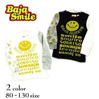 【2018秋冬物新作♪】BajaSmile(バハスマイル)世界のスマイル長袖Tシャツ【メール便可能】