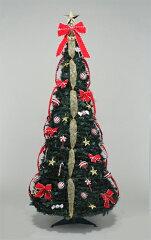折りたたみデコレーションツリー♪フォールディング キャンディツリー(120cm)【セール期間限...