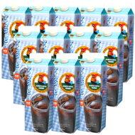 【送料無料】珈琲専門店のアイスコーヒー<無糖>1L×12本【リキッドコーヒー】【チモトコーヒーオリジナル】