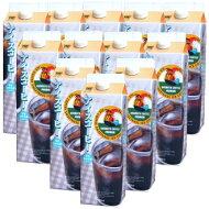 【送料無料】珈琲専門店のアイスコーヒー<甘さ控えめ>1L×12本【リキッドコーヒー】【チモトコーヒーオリジナル】