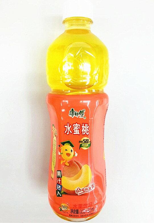 康師傅 水蜜桃 桃味 天華中華物産  中華飲料 中華人気飲み物 清涼飲料 ドリンク中華 桃ジュース 500ml 甘味飲料 夏に定番 清涼飲料水